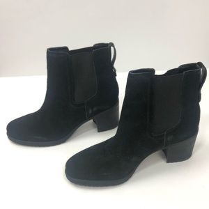 NEW Sam Edelman Suede Leather Ankle Bootie 9.5